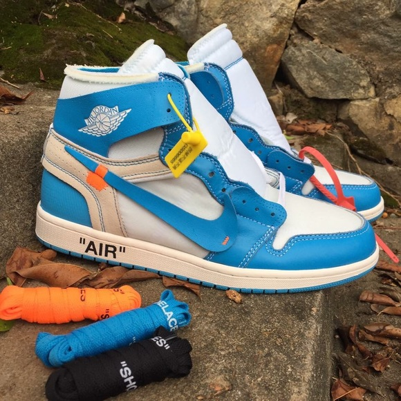 e02441b6fd7 Jordan Shoes | Nike Air 1 Off White X Air 1 Unc | Poshmark